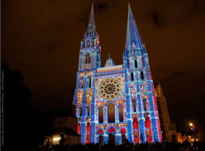 chartres light festival