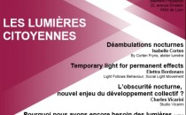 Conference on citizens and lighting in Lyon