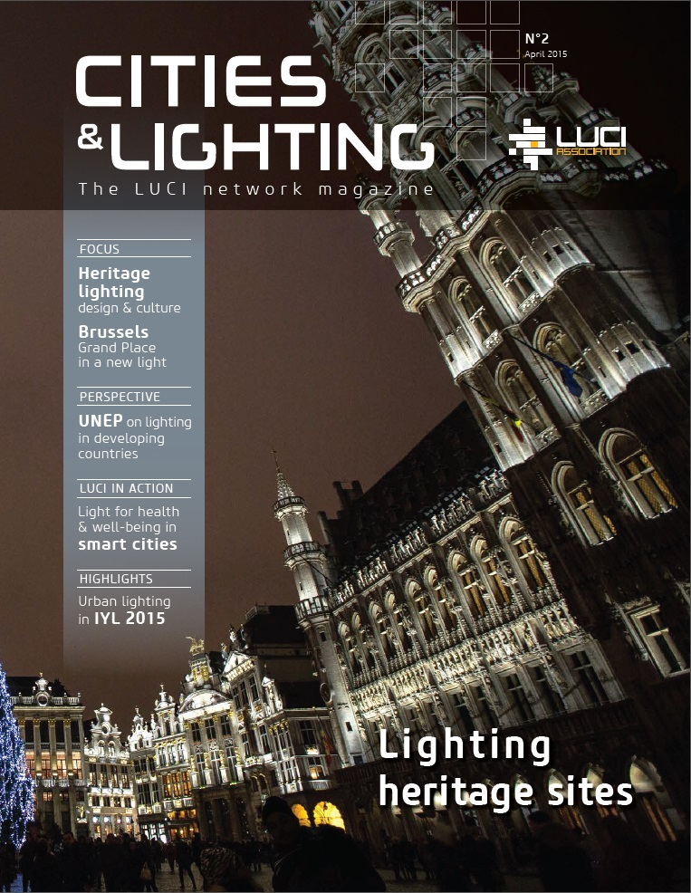 Second edition of LUCI magazine Cities & Lighting available online ...