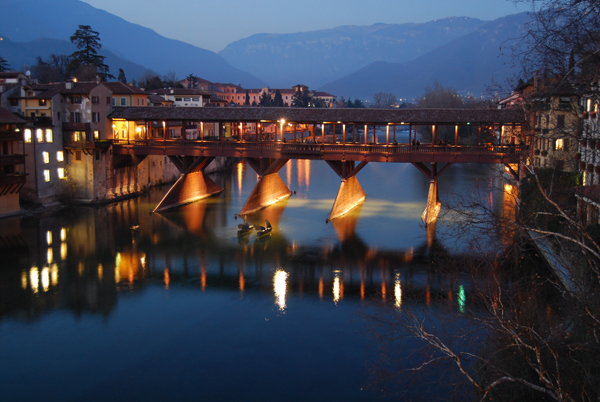 lowres Bassano del Grappa -Alpini bridge (c) City of Bassano del Grappa