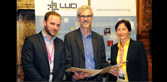 Cities of Albertslund and Oulu sign LUCI Charter on Urban Lighting