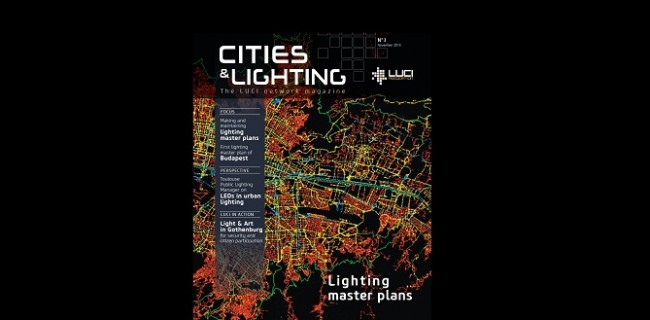 Third edition of LUCI magazine Cities & Lighting