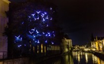 New permanent light art piece for Ghent