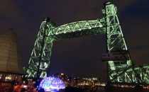 New lighting for Koningshavenbrug Rotterdam