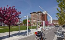 Call for creative proposals for bicycle lanes in Montreal's Quartier des Spectacles