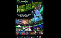 Get ready for Putrajaya LAMPU light festival 2017