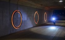 Adaptive tunnel lighting for Danish cyclists