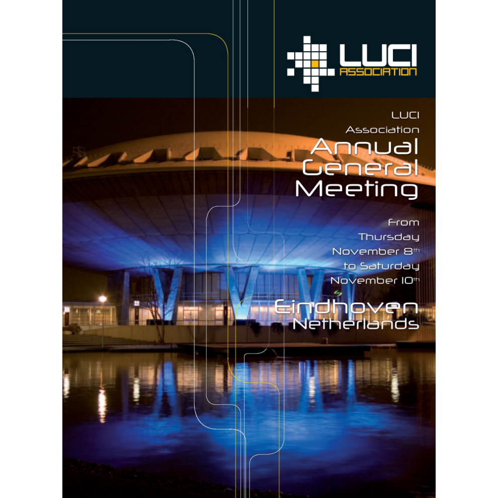 LUCI AGM Eidhoven 2007