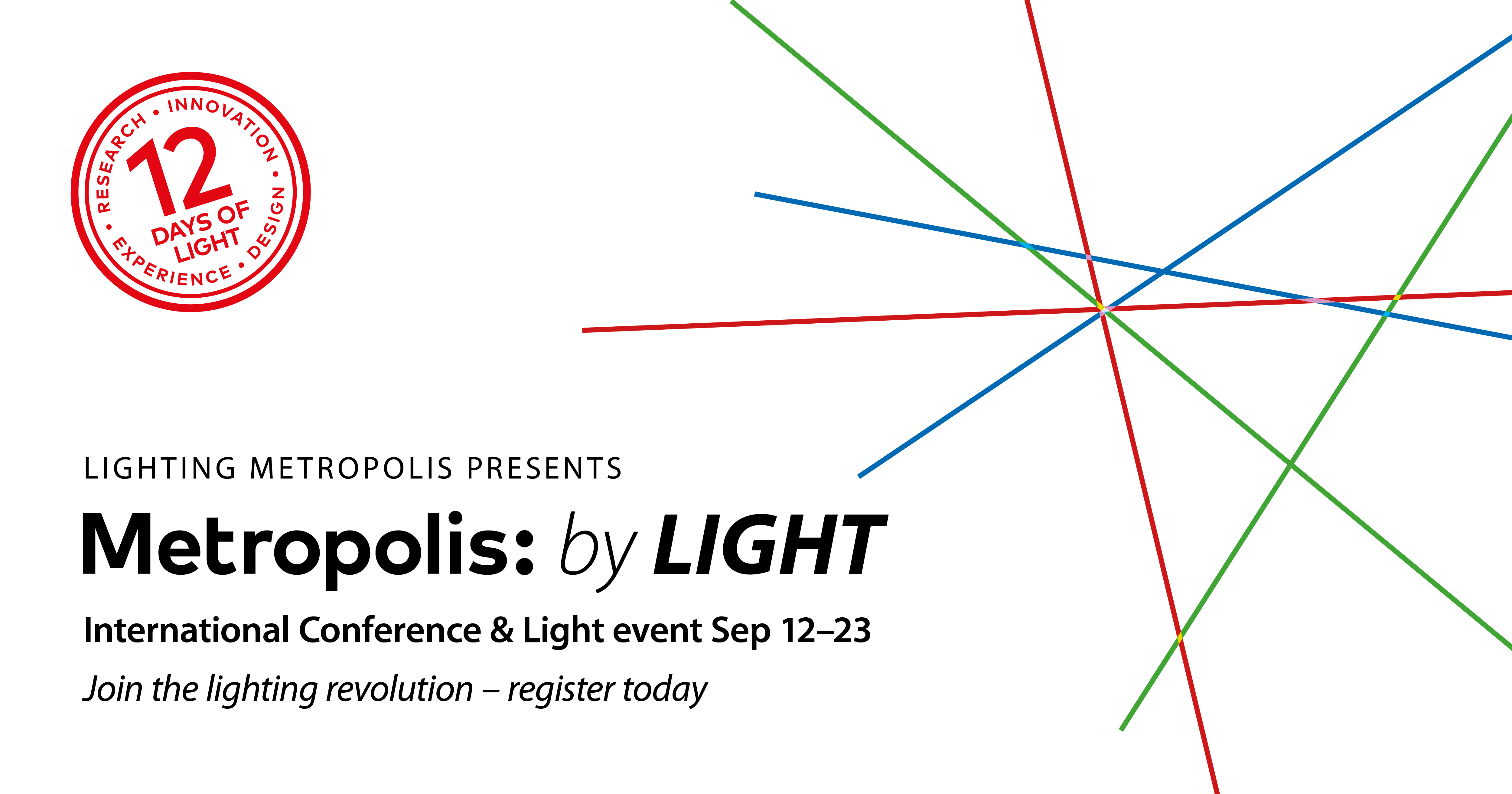 metropolis by light conference and light event this autumn luci rh luciassociation org Photography Lighting Setup Diagram Simple Lighting Diagrams