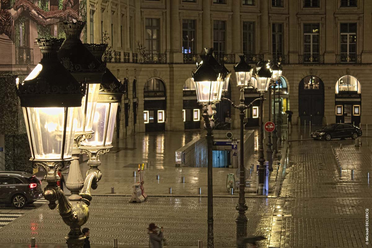 New Lighting For Paris Vendôme Square