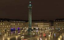 New lighting for Paris Vendôme Square