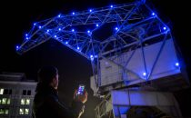 Interactive lights for Strasbourg industrial heritage