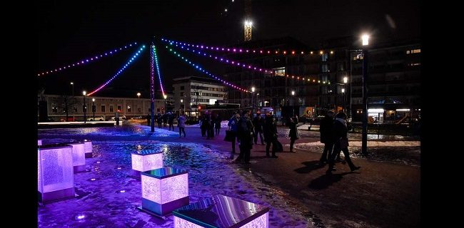 City under Microscope Oulu – exploring a special relationship with light