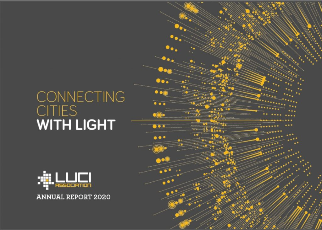 LUCI Annual Report cover