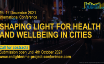 """Call For Abstracts: """"Shaping Light For Health And Wellbeing In Cities"""""""